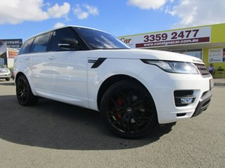 2016 Land Rover Range Rover Sport L494 16.5MY SDV6 HSE Dynamic White 8 Speed Sports Automatic Wagon