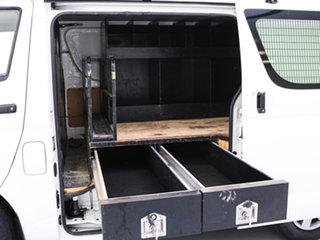 2016 Toyota HiAce KDH201R MY16 LWB White 4 Speed Automatic Van