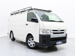 2016 Toyota HiAce KDH201R MY16 LWB White 4 Speed Automatic Van.