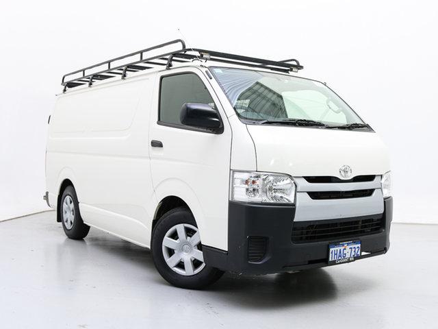 Used Toyota HiAce KDH201R MY16 LWB, 2016 Toyota HiAce KDH201R MY16 LWB White 4 Speed Automatic Van