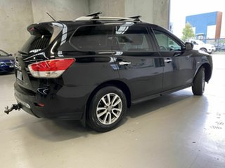 2013 Nissan Pathfinder R52 MY14 ST X-tronic 2WD Black 1 Speed Constant Variable Wagon