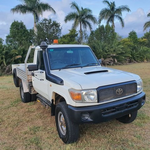 Used Toyota Landcruiser VDJ79R Workmate, 2008 Toyota Landcruiser VDJ79R Workmate White 5 Speed Manual Cab Chassis