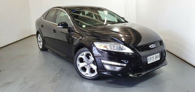 Used Ford Mondeo MC Titanium PwrShift EcoBoost, 2012 Ford Mondeo MC Titanium PwrShift EcoBoost Black 6 Speed Sports Automatic Dual Clutch Hatchback