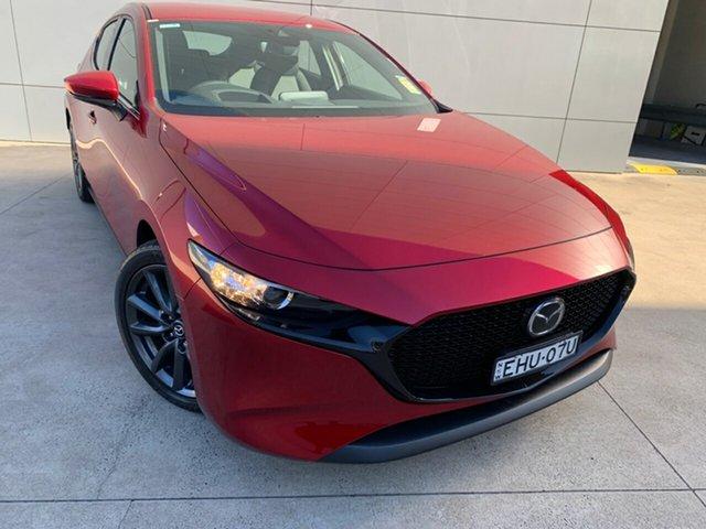 Demo Mazda 3 BN5478 Touring SKYACTIV-Drive, 2019 Mazda 3 BN5478 Touring SKYACTIV-Drive Soul Red Crystal 6 Speed Sports Automatic Hatchback