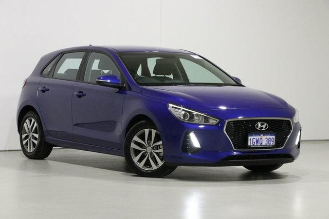 Used Hyundai i30 PD2 MY19 Active, 2019 Hyundai i30 PD2 MY19 Active Blue 6 Speed Automatic Hatchback