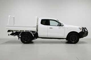 2015 Nissan Navara NP300 D23 RX (4x2) White 6 Speed Manual King Cab Chassis