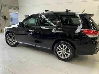 2013 Nissan Pathfinder R52 MY14 ST X-tronic 2WD Black 1 Speed Constant Variable Wagon.