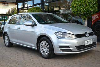 2014 Volkswagen Golf VII MY14 90TSI DSG Silver Metallic 7 Speed Sports Automatic Dual Clutch.