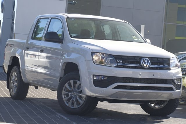 Used Volkswagen Amarok 2H MY18 TDI550 4MOTION Perm Core, 2018 Volkswagen Amarok 2H MY18 TDI550 4MOTION Perm Core White 8 Speed Automatic Utility