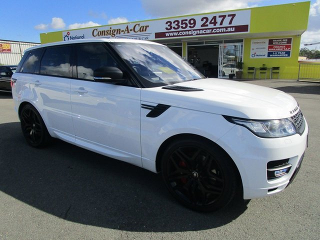 Used Land Rover Range Rover Sport L494 16.5MY SDV6 HSE Dynamic, 2016 Land Rover Range Rover Sport L494 16.5MY SDV6 HSE Dynamic White 8 Speed Sports Automatic Wagon