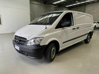 2011 Mercedes-Benz Vito 639 MY11 113CDI SWB White 6 Speed Manual Van.