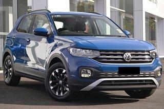 2021 Volkswagen T-Cross C1 MY21 85TSI DSG FWD Life Reef Blue Metallic 7 Speed.