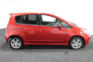 2011 Mitsubishi Colt RG MY11 VR-X Red 5 Speed Constant Variable Hatchback.