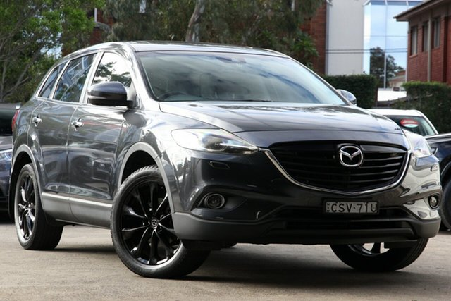 Used Mazda CX-9 MY14 Grand Touring, 2014 Mazda CX-9 MY14 Grand Touring Grey 6 Speed Auto Activematic Wagon