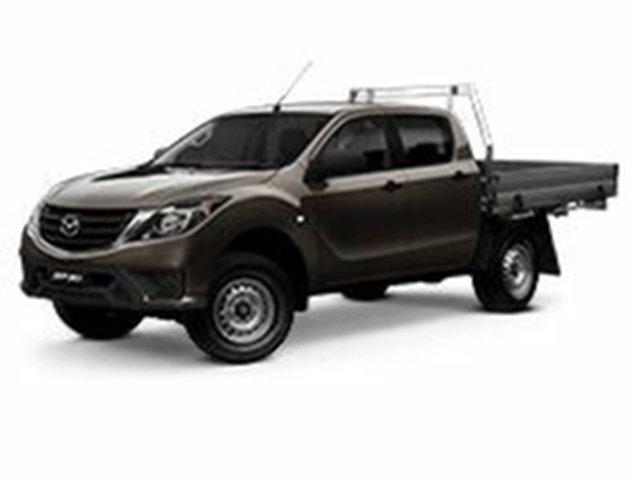 Demo Mazda BT-50 UR0YG1 XT 4x2 Hi-Rider, 2019 Mazda BT-50 UR0YG1 XT 4x2 Hi-Rider 6 Speed Sports Automatic Cab Chassis