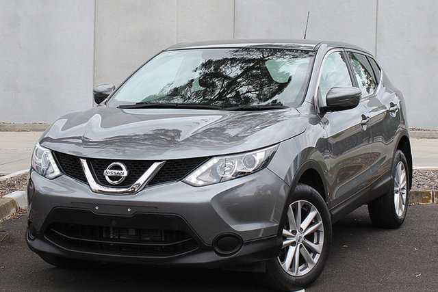 Used Nissan Qashqai J11 ST, 2016 Nissan Qashqai J11 ST Grey 1 Speed Constant Variable Wagon