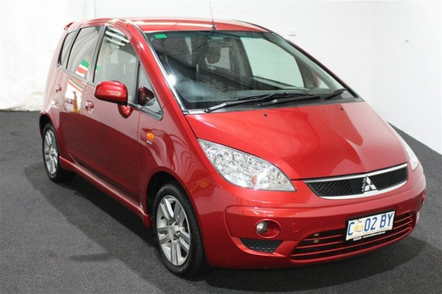 Used Mitsubishi Colt RG MY11 VR-X, 2011 Mitsubishi Colt RG MY11 VR-X Red 5 Speed Constant Variable Hatchback