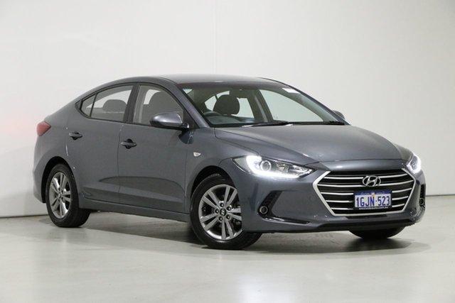 Used Hyundai Elantra AD Active 2.0 MPI, 2017 Hyundai Elantra AD Active 2.0 MPI Grey 6 Speed Automatic Sedan