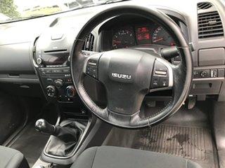 2014 Isuzu D-MAX MY15 SX White 5 speed Manual Cab Chassis