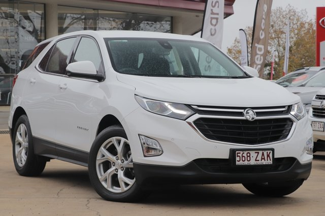 Used Holden Equinox EQ MY18 LT FWD, 2018 Holden Equinox EQ MY18 LT FWD White 9 Speed Sports Automatic Wagon