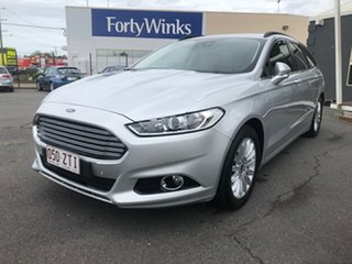 2016 Ford Mondeo MD Trend TDCi Silver 6 Speed Automatic Wagon
