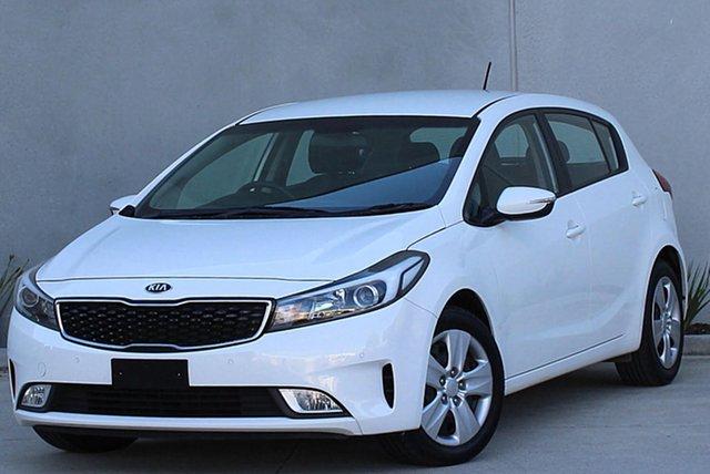 Used Kia Cerato YD MY17 S, 2017 Kia Cerato YD MY17 S White 6 Speed Sports Automatic Hatchback