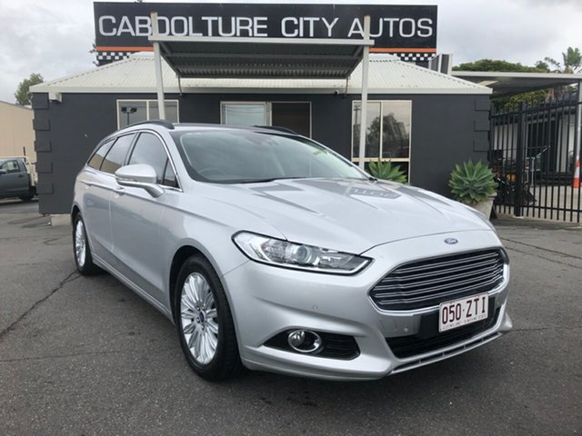Used Ford Mondeo MD Trend TDCi, 2016 Ford Mondeo MD Trend TDCi Silver 6 Speed Automatic Wagon