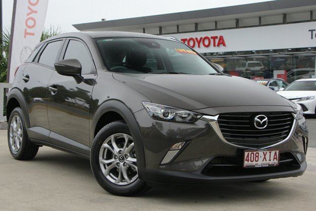 Used Mazda CX-3 DK2W7A Maxx SKYACTIV-Drive, 2017 Mazda CX-3 DK2W7A Maxx SKYACTIV-Drive Brown 6 Speed Sports Automatic Wagon