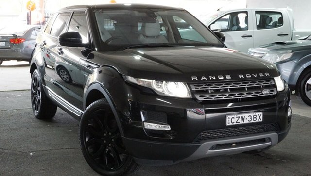 Used Land Rover Range Rover Evoque L538 MY15 SD4 Pure, 2015 Land Rover Range Rover Evoque L538 MY15 SD4 Pure Black 9 Speed Sports Automatic Wagon