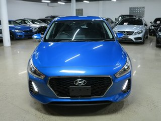 2018 Hyundai i30 PD2 MY19 Active Blue 6 Speed Sports Automatic Hatchback