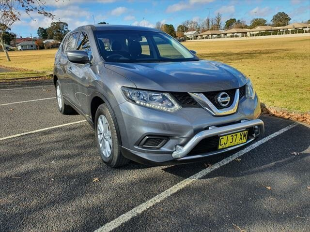 Used Nissan X-Trail T32 ST X-tronic 4WD, 2016 Nissan X-Trail T32 ST X-tronic 4WD Gun Metallic 7 Speed Constant Variable Wagon