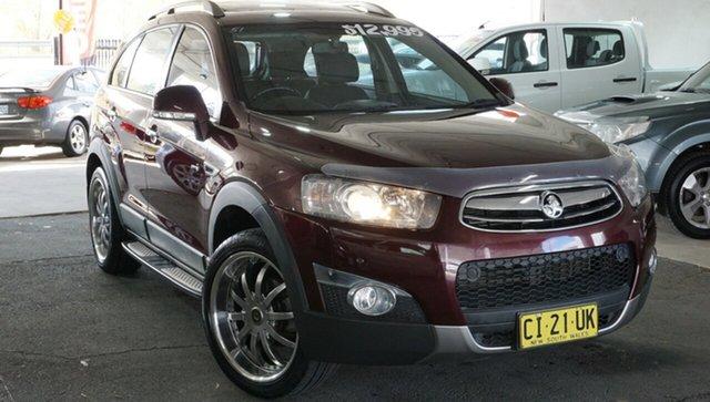 Used Holden Captiva CG MY13 7 SX, 2013 Holden Captiva CG MY13 7 SX Maroon 6 Speed Sports Automatic Wagon