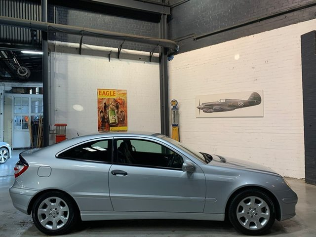 Used Mercedes-Benz C-Class CL203 MY2005 C180 Kompressor Sports, 2004 Mercedes-Benz C-Class CL203 MY2005 C180 Kompressor Sports Silver 5 Speed Automatic Coupe