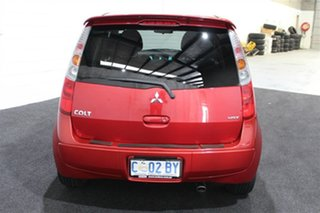 2011 Mitsubishi Colt RG MY11 VR-X Red 5 Speed Constant Variable Hatchback