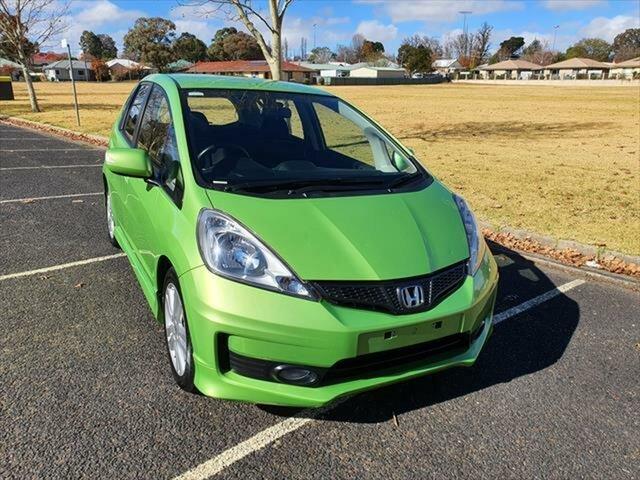 Used Honda Jazz GE MY12 VTi-S, 2012 Honda Jazz GE MY12 VTi-S Green 5 Speed Sports Automatic Hatchback