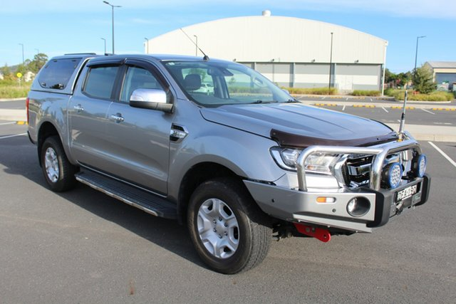 Used Ford Ranger PX MkII XLT Double Cab, 2015 Ford Ranger PX MkII XLT Double Cab Aluminium 6 Speed Sports Automatic Utility