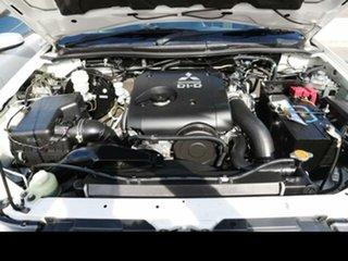 2013 Mitsubishi Triton MN MY14 Update GL White 5 Speed Manual Cab Chassis