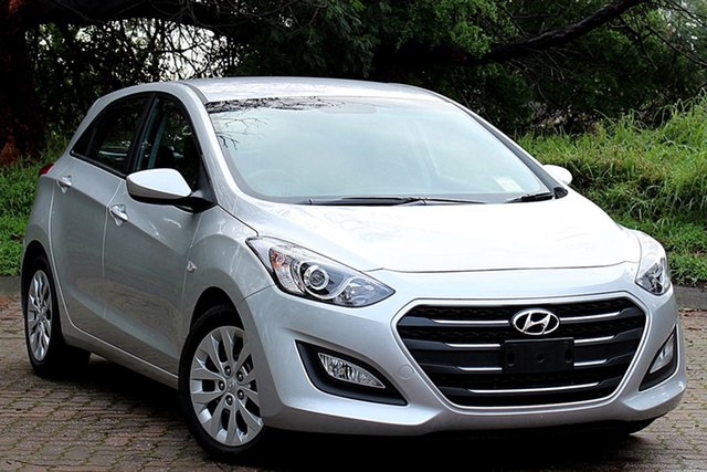 Used Hyundai i30 GD4 Series II MY17 Active, 2016 Hyundai i30 GD4 Series II MY17 Active Silver 6 Speed Sports Automatic Hatchback