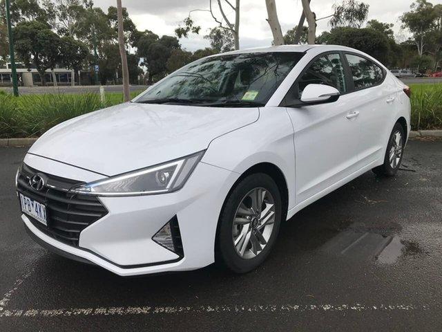 Used Hyundai Elantra AD.2 MY19 Active, 2019 Hyundai Elantra AD.2 MY19 Active White 6 Speed Sports Automatic Sedan