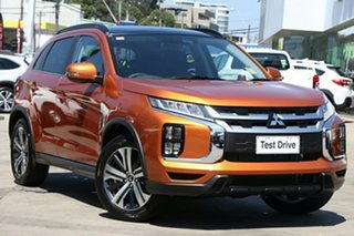 2020 Mitsubishi ASX XD MY21 Exceed 2WD Sunshine Orange 1 Speed Constant Variable Wagon.