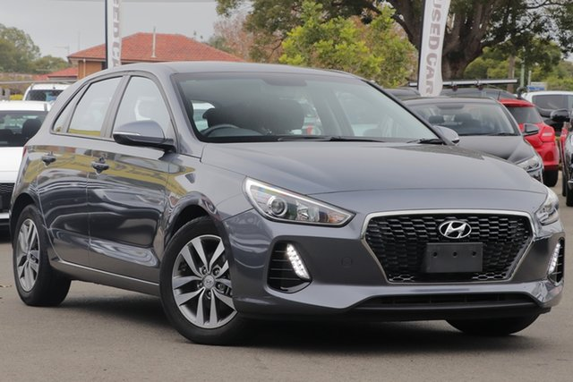 Used Hyundai i30 PD MY18 Active, 2017 Hyundai i30 PD MY18 Active Grey 6 Speed Sports Automatic Hatchback