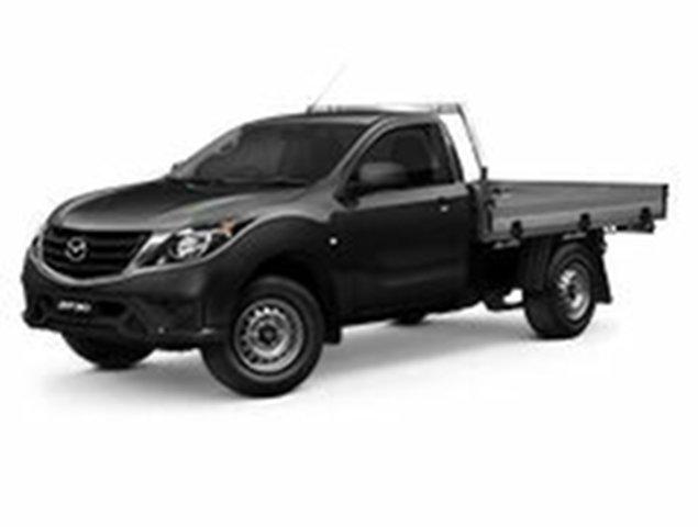 Demo Mazda BT-50 UR0YG1 XT, 2019 Mazda BT-50 UR0YG1 XT Jet Black 6 Speed Manual Cab Chassis