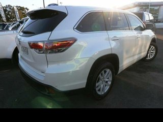 2014 Toyota Kluger GSU55R GX (4x4) White 6 Speed Automatic Wagon