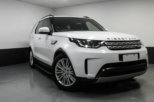 Used Land Rover Discovery Series 5 L462 MY17 TD6 HSE, 2017 Land Rover Discovery Series 5 L462 MY17 TD6 HSE White 8 Speed Sports Automatic Wagon