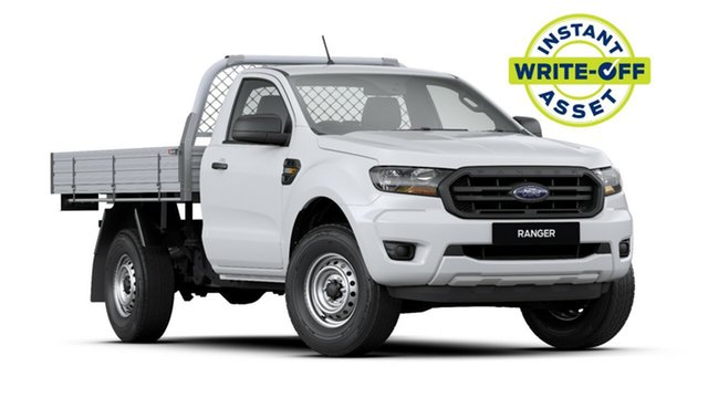New Ford Ranger PX MkIII 2020.25MY XL 4x2 Hi-Rider, 2020 Ford Ranger PX MkIII 2020.25MY XL 4x2 Hi-Rider Arctic White 6 Speed Sports Automatic