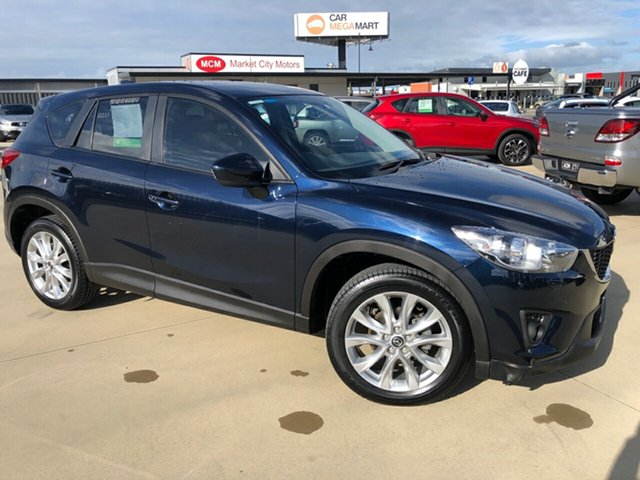 Used Mazda CX-5 KE1031 MY13 Grand Touring SKYACTIV-Drive AWD, 2013 Mazda CX-5 KE1031 MY13 Grand Touring SKYACTIV-Drive AWD Deep Crystal Blue 6 Speed