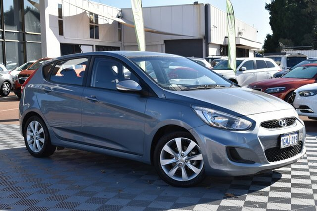 Used Hyundai Accent RB6 MY18 Sport, 2018 Hyundai Accent RB6 MY18 Sport Silver 6 Speed Sports Automatic Hatchback