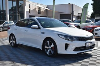 2017 Kia Optima JF MY17 GT White 6 Speed Sports Automatic Sedan.