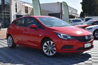 2019 Holden Astra BK MY19 R Absolute Red 6 Speed Sports Automatic Hatchback.