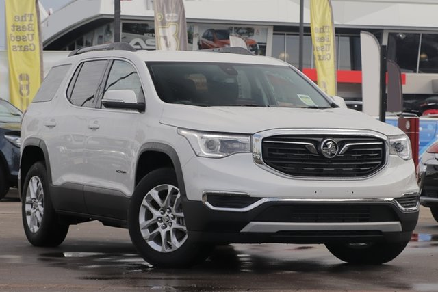Used Holden Acadia AC MY19 LT 2WD, 2019 Holden Acadia AC MY19 LT 2WD Abalone White 9 Speed Sports Automatic Wagon